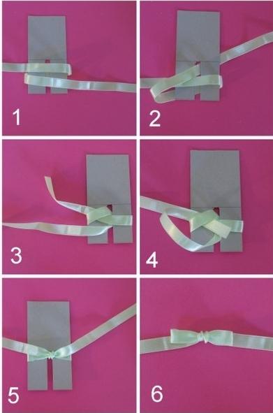 Comment faire de jolis noeuds ithyliaithylia - Comment faire un joli noeud ...