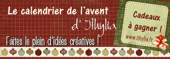 calendrier avent creatif ithylia