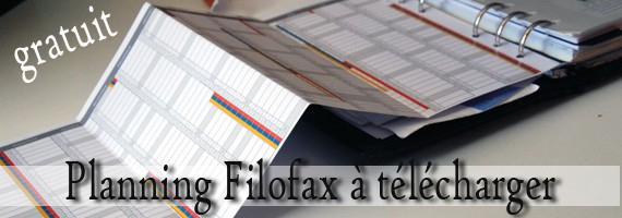 Agenda 2015-2016 type Filofax Gratuit