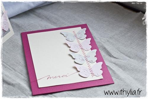 Carte papillons ithylia