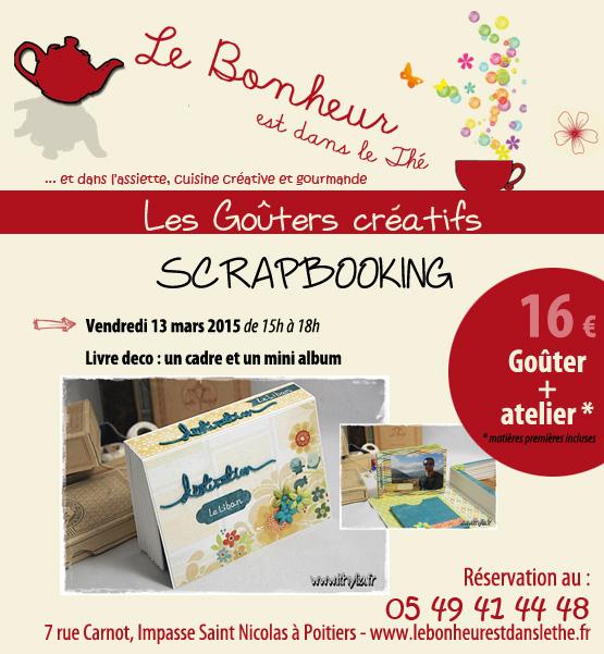 Go ters cr atifs poitiers scrapbookingithylia - Salon des loisirs creatifs poitiers ...