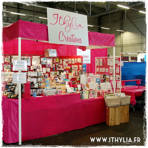 Salon des loisirs cr atifs de poitiers ithyliaithylia - Salon des loisirs creatifs poitiers ...