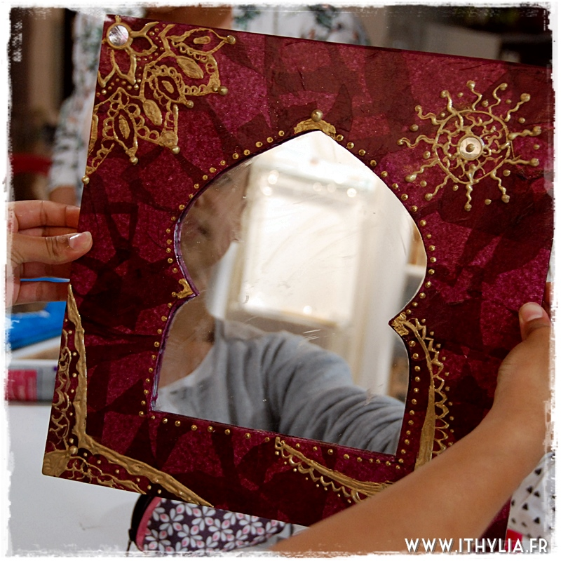 Atelier d 39 t le miroir ithyliaithylia for Construire un miroir